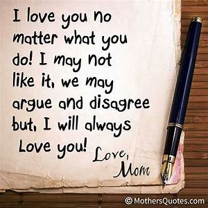 I Will Always Love You No Matter What... And That Is What ...