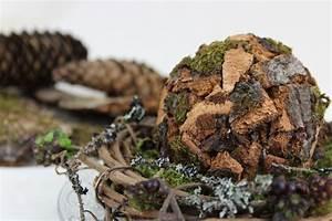 Mit Fotos Dekorieren : deko kugeln mit baumrinde selber basteln nat rlich deko ~ Indierocktalk.com Haus und Dekorationen