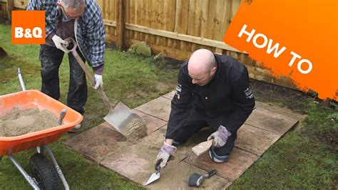 laying slabs for shed how to lay a shed base