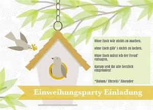 Spruch Zur Hauseinweihung : einweihungsparty einladung selber machen spr che und ~ Lizthompson.info Haus und Dekorationen