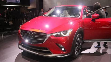 2019 Mazda Cx-3 At The 2018 New York Auto Show Photo