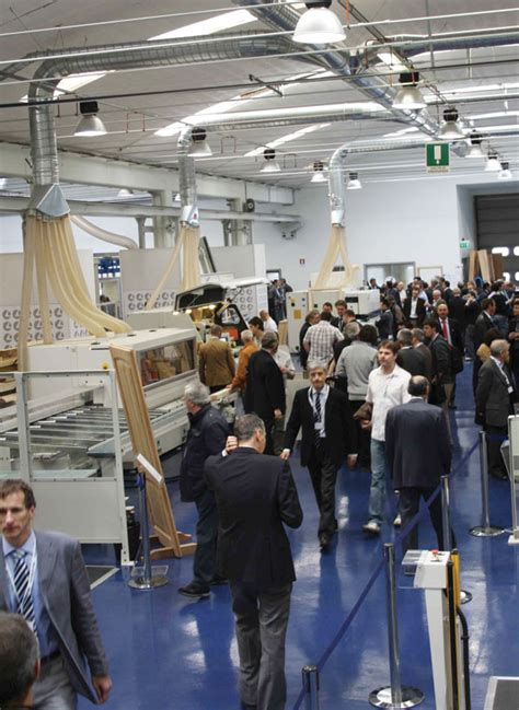 choice visits scm group  italy woodworking network