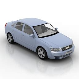 Land Transport 3D Models   Car Audi A4 N230611   3D model