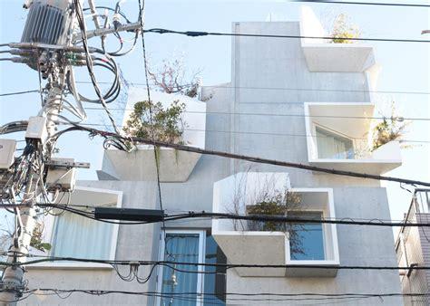 Tree Ness House In Tokio by Akihisa Hirata Tree Ness House Tokio 4 A F A S I A