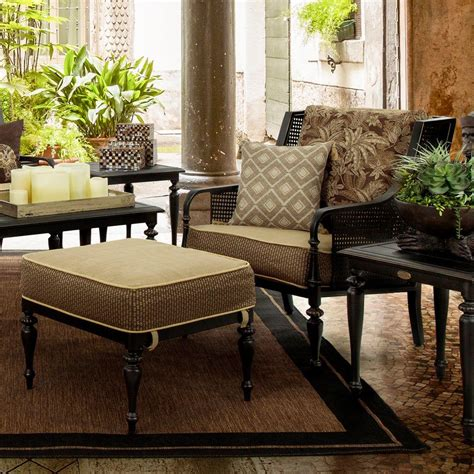 patio set with ottoman bombay outdoors sherborne 2 piece patio chair and ottoman