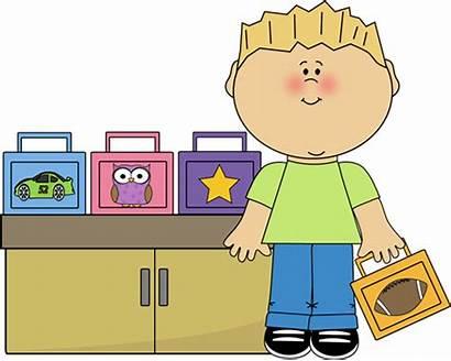 Lunch Clipart Box Monitor Breakfast Clip Classroom