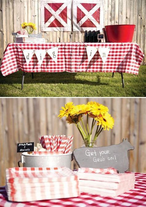 classic clever barnyard birthday party fiesta de