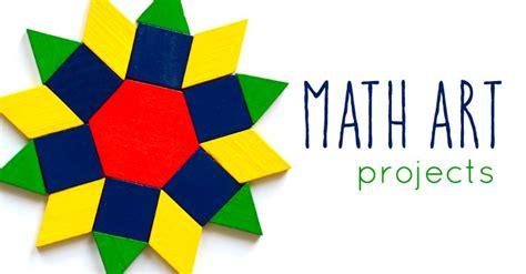 math art projects  kids