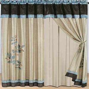 New home designs latest home curtain designs ideas for Latest curtain designs for home
