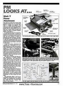 1985 Shopsmith Mark V Mounted 12 U0026quot  Planer Article