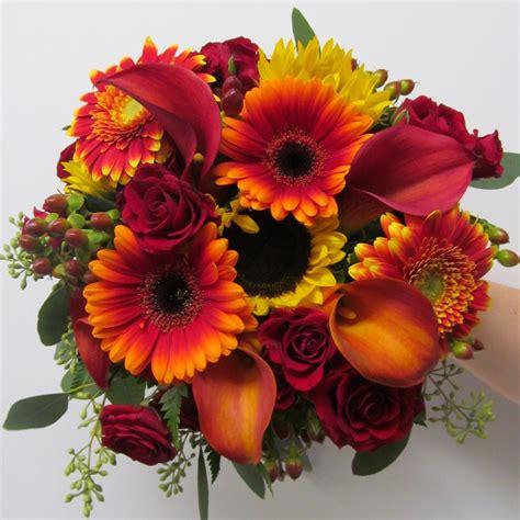 fall flowers sunflowers buffalo wedding event flowers by lipinoga florist