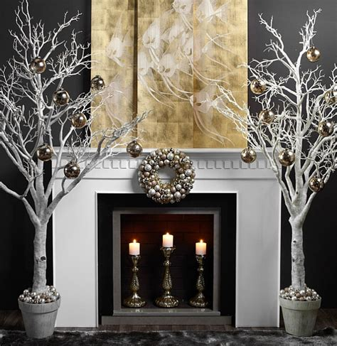 hearth decorations 50 christmas mantle decoration ideas