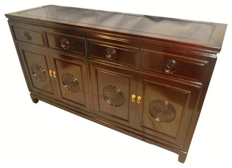 72 Inch Sideboard by Solid Rosewood Carved Buffet 72 Inches Wide