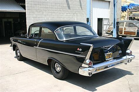 1957 Chevy 150 Black Widow (283 Ci Fuel Injection) Rare