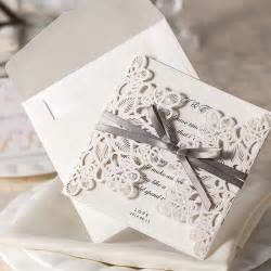wedding invitation paper design 10pcs set floral bow wedding invitations blank printable laser cut wedding invitations