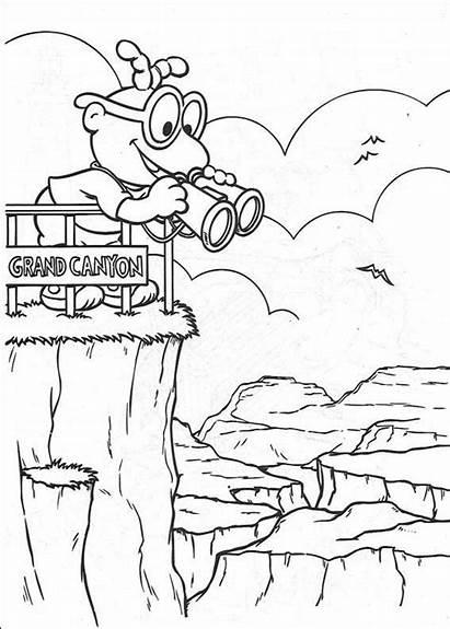 Muppet Babies Canyon Grand Kleurplaat Coloring Desenhos