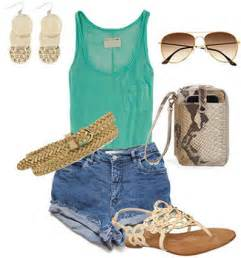 Cute Summer Outfits with High Waisted Shorts