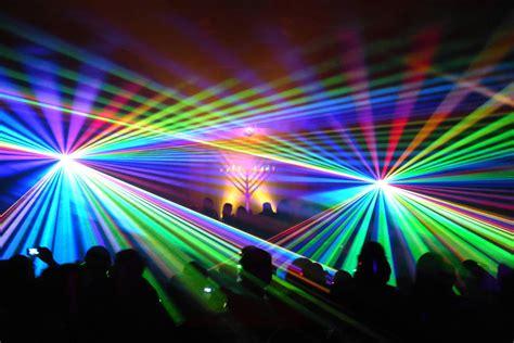 Menorah Lighting by Festival Of Laser Lights Show Jewish Community Center