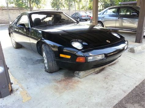 Sell Used Porsche 928 , 1982 ,project In Simi Valley