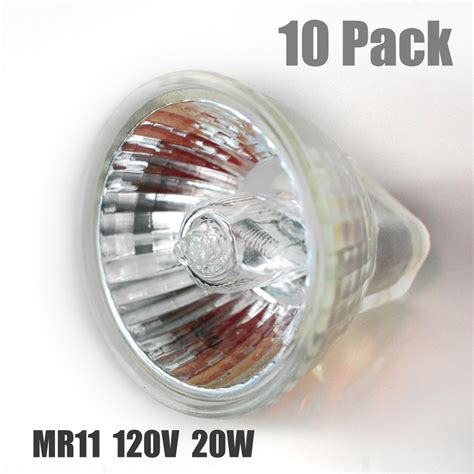 tp lighting10 x mr11 halogen lighting bulb l 120v 20w