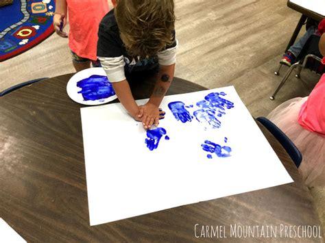 mountain preschool handprint fish activity 395 | image3