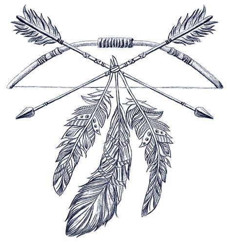 arrow feather drawing  getdrawingscom