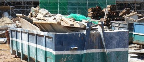 disposing  construction waste  types