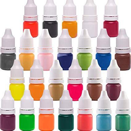 Krāsas kosmētikai (šķīst ūdenī)