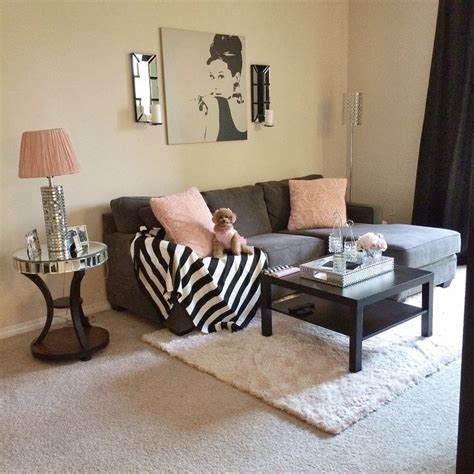 Girly Living Room by 24 Simple Apartment Decoration You Can Lovely Cozy