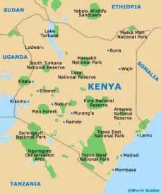 Kenya Africa Map
