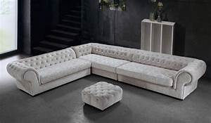 graceful tufted microfiber living room furniture With tufted sectional sofa microfiber