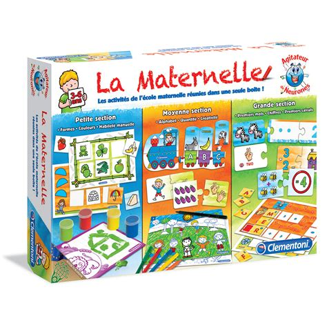 puzzle cuisine clementoni la maternelle 3 à 6 ans jeu éducatif