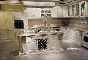 China Kitchen Furniture (Kitchen Cabinet-Antique Style