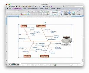 How To Add A Fishbone  Ishikawa  Diagram To A Ms Word