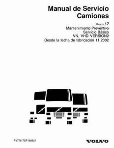 Manual De Servicio Camiones 17 Mantenimiento Preventivo