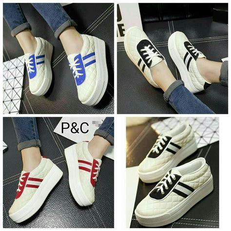 jual beli sepatu kets casual mirip adidas sepatu
