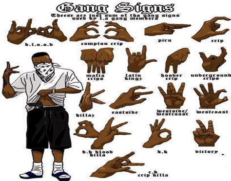 gang signs the valiens