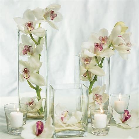 Square Vases by Square Glass Vases Wedding Favors Unlimited