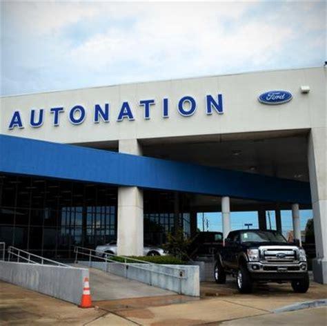 Car Dealerships In Arthur Tx by Autonation Ford Gulf Freeway Car Dealership In Houston Tx
