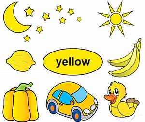 yellow objects clipart for kids - Clipground