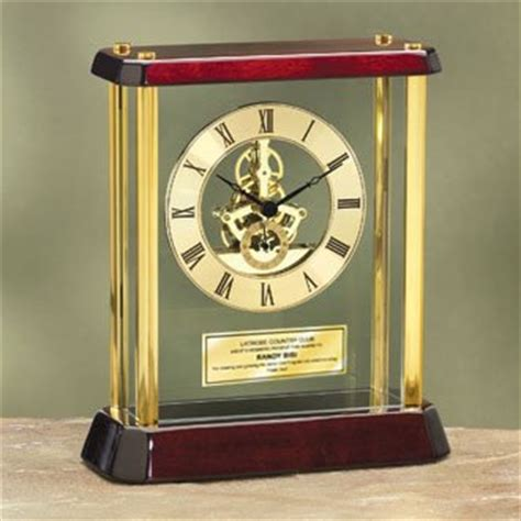 personalized desk clocks retirement clocks gifts gift ftempo