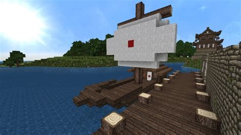 Minecraft Japanese Boat by Japanese Fishing Boat Minecraft Project