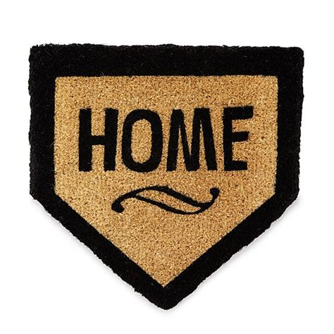 Home Plate Doormat home plate doormat mat baseball sports uncommongoods