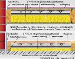 Fußbodenheizung Auf Holzbalkendecke : fu bodenheizung holzbalkendecke shkwissen haustechnikdialog ~ Frokenaadalensverden.com Haus und Dekorationen