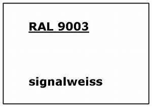 Ral 9003 Signal