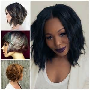2017 Hairstyle Layered Bob Haircut