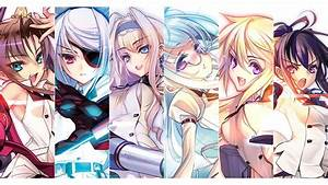 Wallpaper, Illustration, Anime, Girls, Artwork, Infinite, Stratos, Bodewig, Laura, Dunois