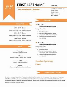 gallery of fun resume templates With fun resume templates free