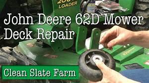 How To Repair The Wheels On A John Deere 62d Mower Deck
