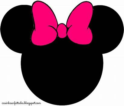 Minnie Mouse Head Clipart Pink Face Clipartion
